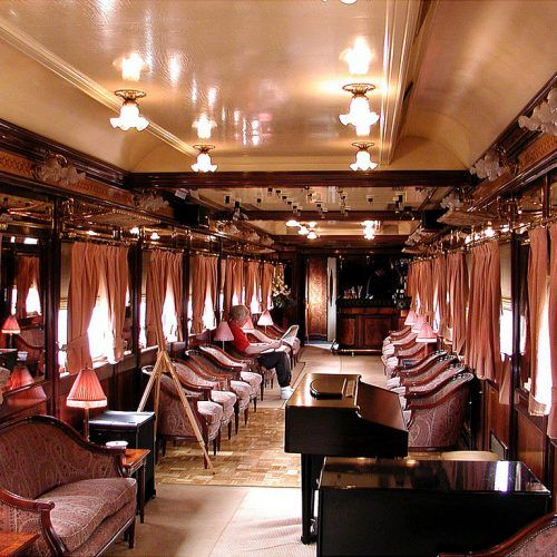 Al-Andalus Train Interior Design