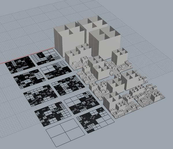 Recursive Subdivision 4 sided polygon